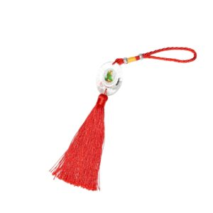 Keychain W/Religious Picture Of Tassel