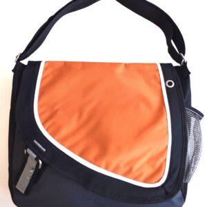 Cloth Messenger Bag W/Adjustable Strap