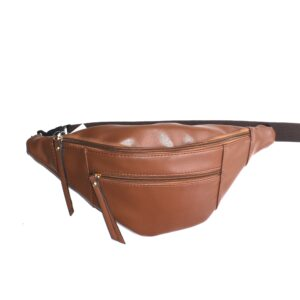 Leather Fanny Pack W/2 Pockets