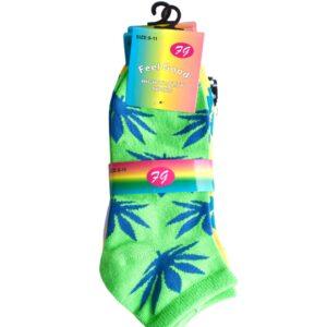 Womens Ankle Socks 3 Pack (9-11 Shoe)