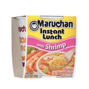 Shrimp cup of noodles