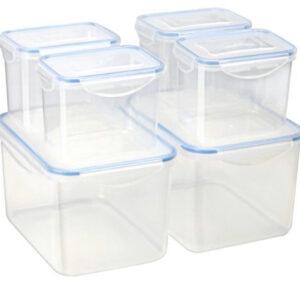 Plastic Container Set Multi Size