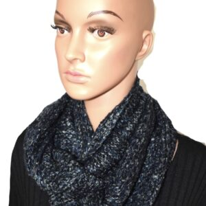 Mulit color knit infinty scurf 100% aerylic